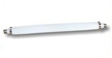 gt dreamshop fensterdurchf hrung sat slim line 20cm weiss flachkabel f r koaxial kabel. Black Bedroom Furniture Sets. Home Design Ideas