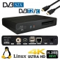 Preview: qviart Linux 4K UHD 2160p H265 E2 Linux Combo DVB-S2X/C/T2 Multistream Receiver