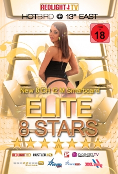 Redlight Elite 8 Stars Viaccess Smartkarte 12 Monate Laufzeit: 12 Mon. FSK 18