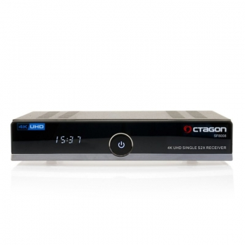 Octagon SF8008 4K UHD E2 Linux Single Sat (DVB-S2x) Receiver