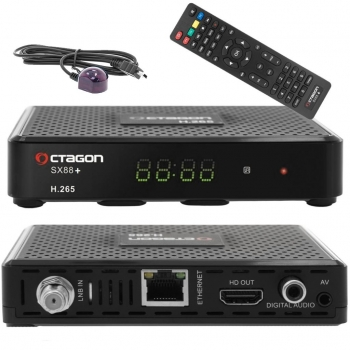 Octagon SX88+ CA HD HEVC Full HD Sat Receiver