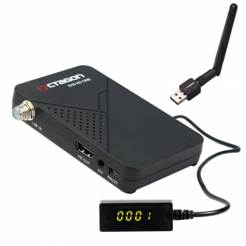 Octagon SX8 Mini Full HD DVB-S2 Multistream FTA Sat Receiver incl. USB Wlan 150