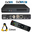 Qviart Lunix Co Full HD 1080p DVB-S2/T2/C E2 Linux Combo Receiver